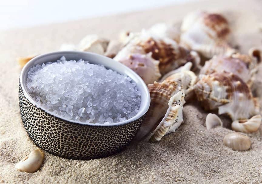 Морская соль улучшает выделение слизи из носа