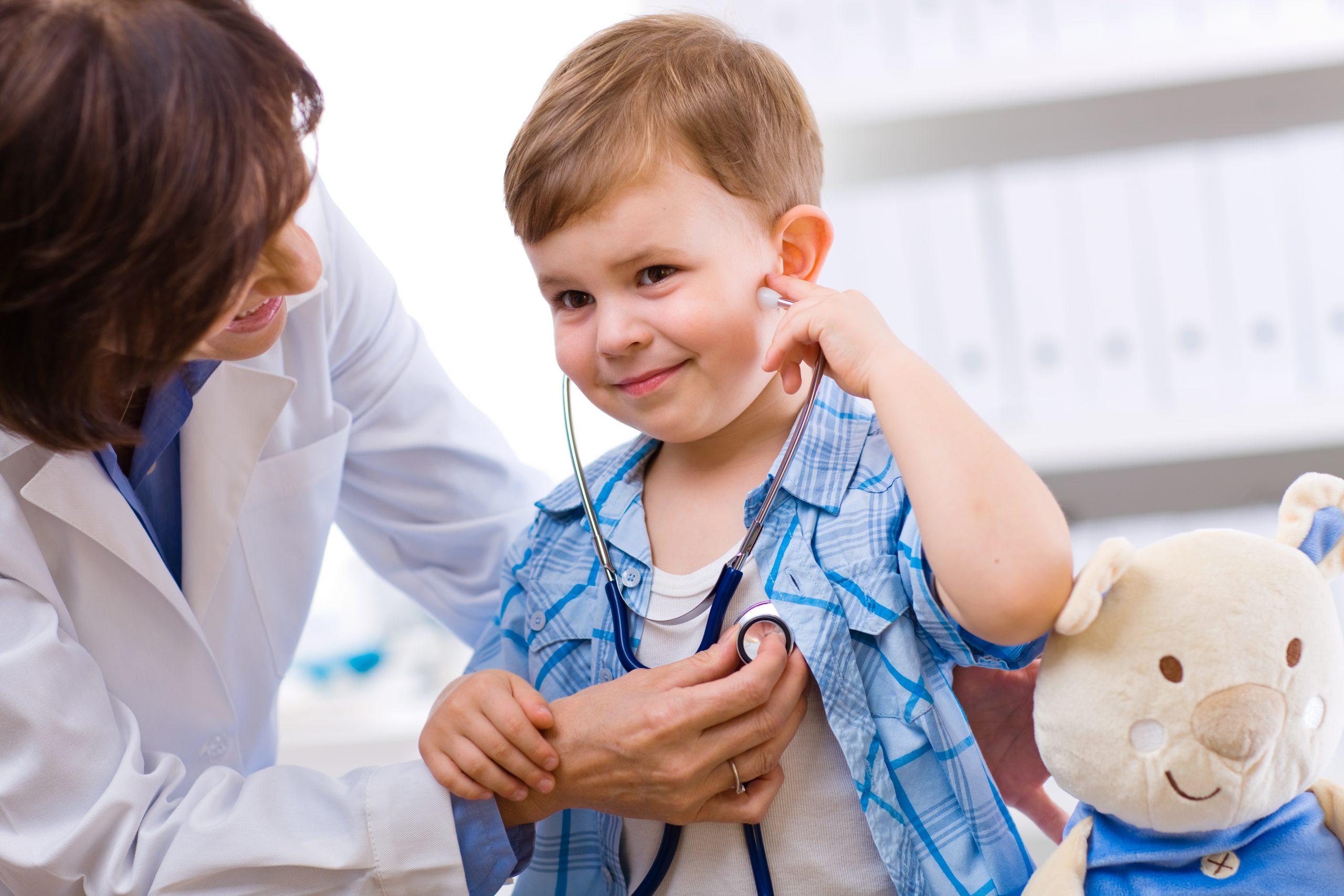 Прием у детей контролирует педиатр
