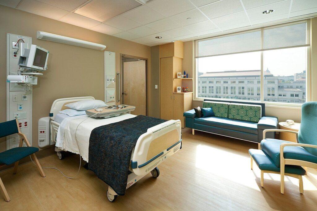 Процедура проводится в больнице