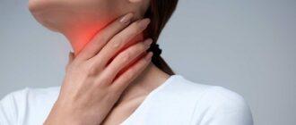 Боль в горле при коронавирусе