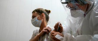 Вакцина Вектор от коронавируса
