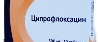 Ципрофлоксацин: инструкция, состав, показания, действие, отзывы и цены