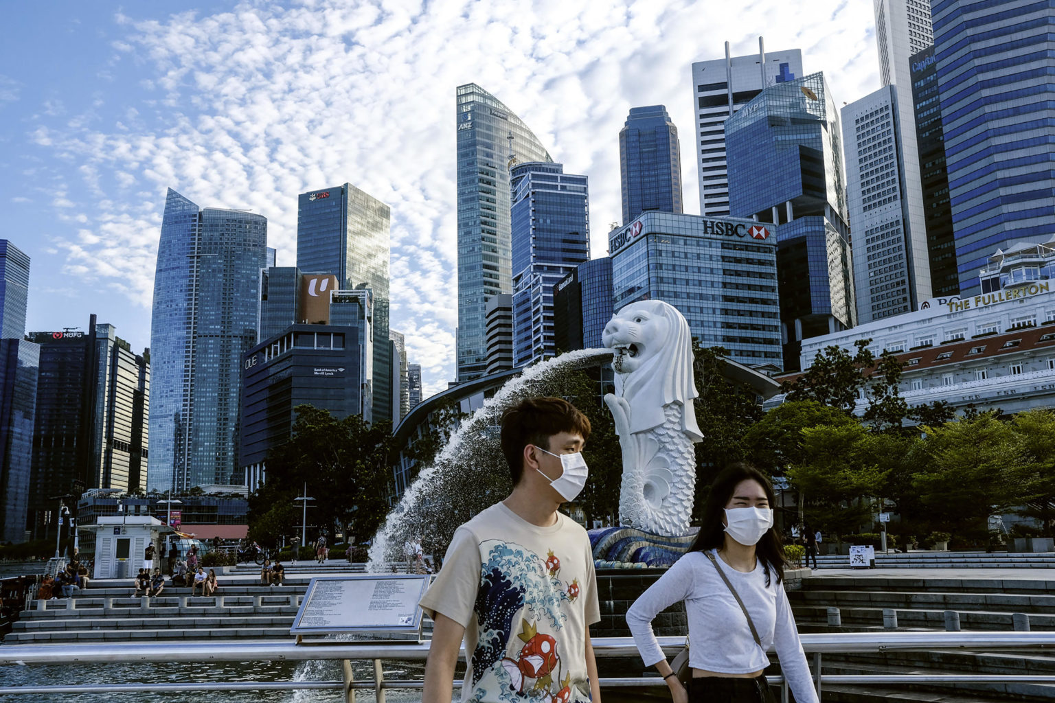 Коронавирус в Сингапуре