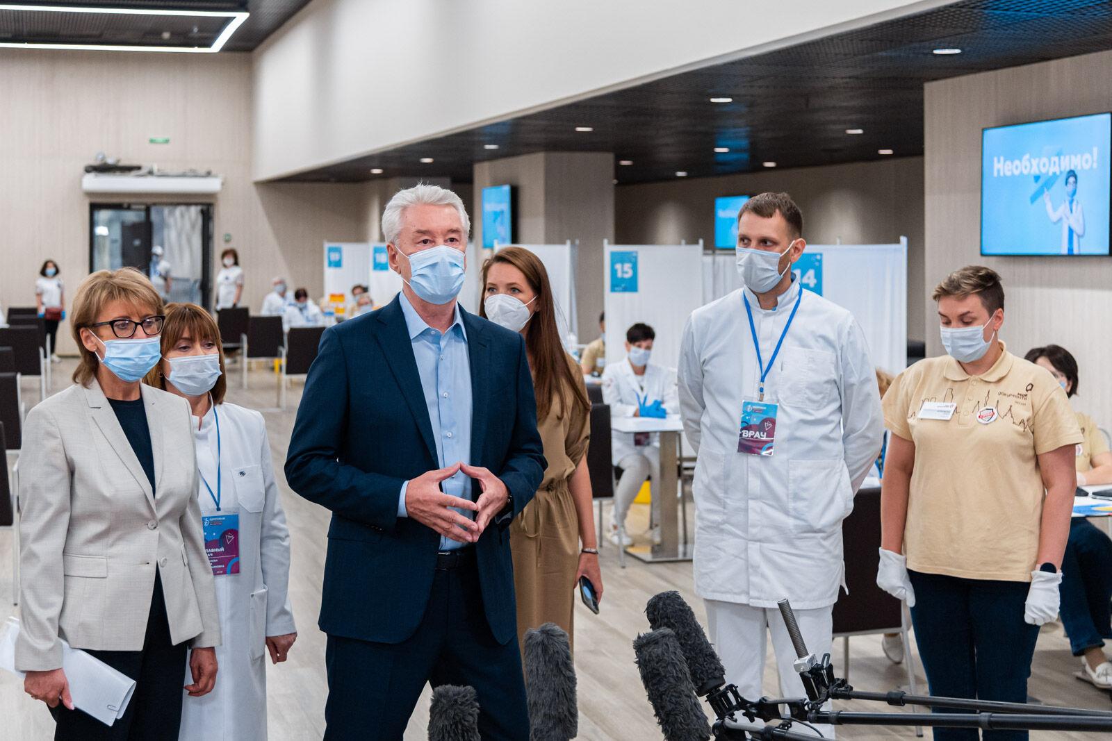 Ревакцинация от коронавируса в Москве